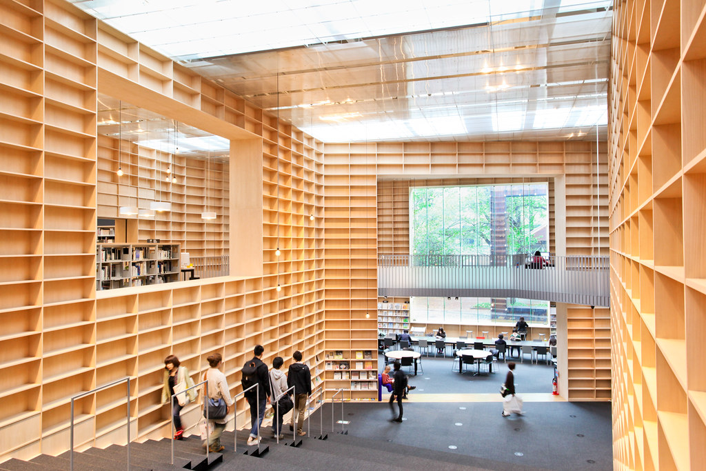 musashino art university museum library sou fujimoto flickr