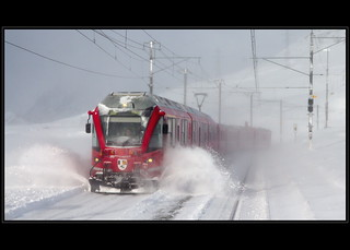 Bernina Express [Explored #6, 12.12.12] | by antony5112