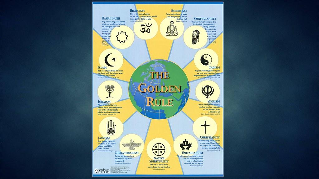 The Golden Rule Of Religions Drakoheart Flickr