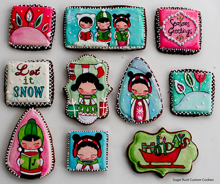 Christmas 2012 | by SUGAR RUSH CUSTOM COOKIES