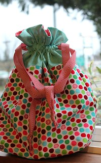 Drawstring Bag | by aquilterstable