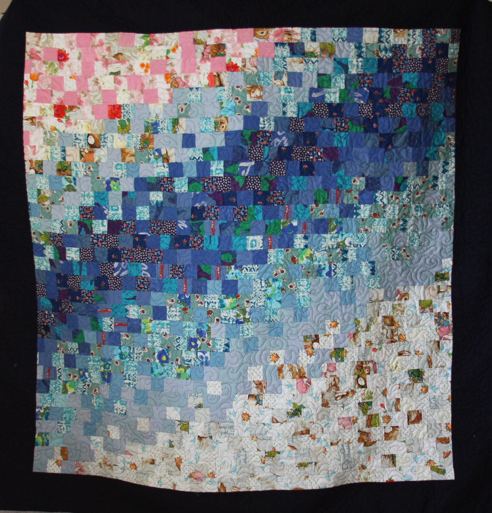 Memory Quilt Made From Clothing Alix Joyal Flickr