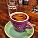 Long black coffee at Coffeehead