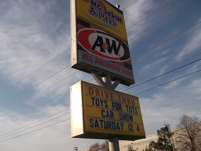 2012 Toys For Tots Logo : A w long john silver sign for the car show flickr