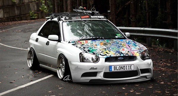 Subi Jdm Style Extreme Modified Extreme Modified Flickr
