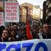 Manifestación en Cangas da folga xeral
