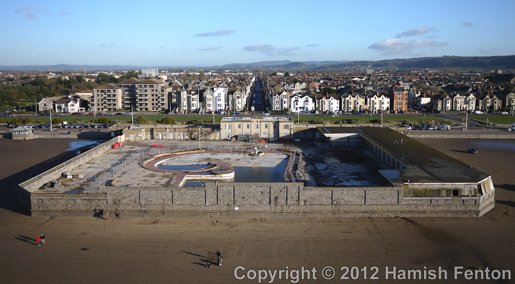 The tropicana lido weston super mare 1 the pool - Hotels weston super mare with swimming pool ...