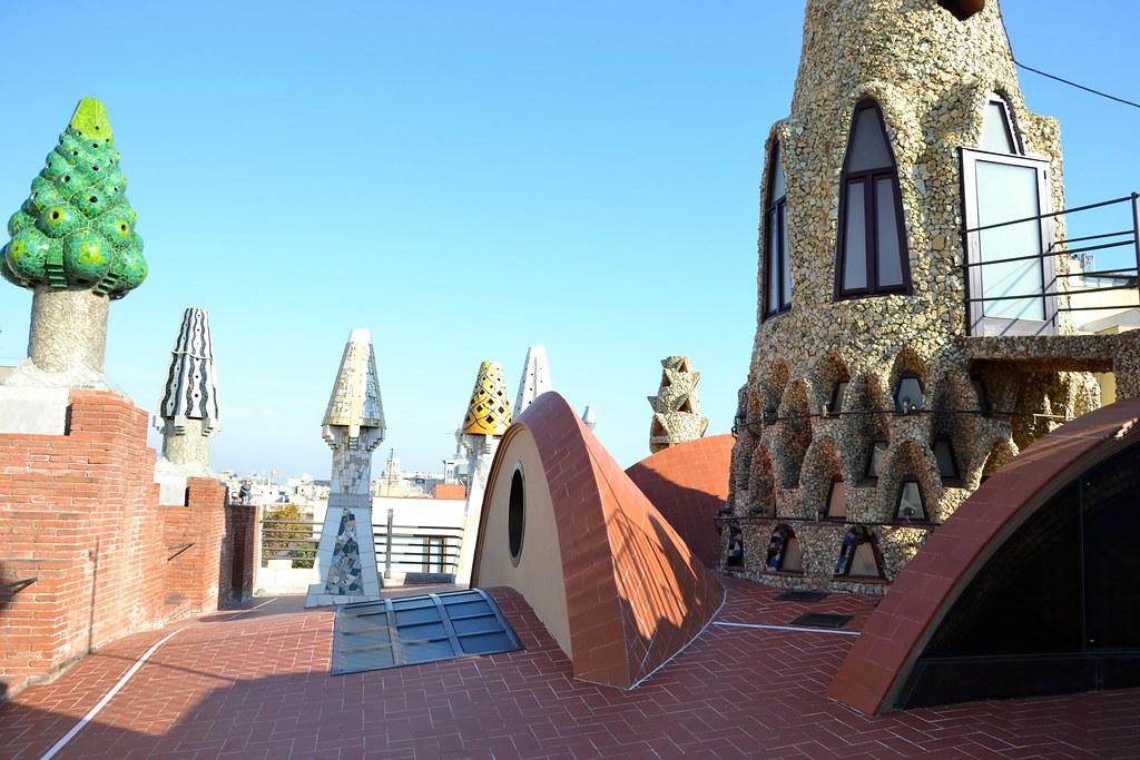 Palau Güell Rooftop