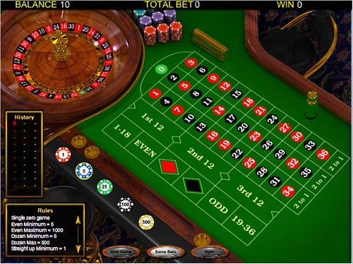 Yahoo games roulette