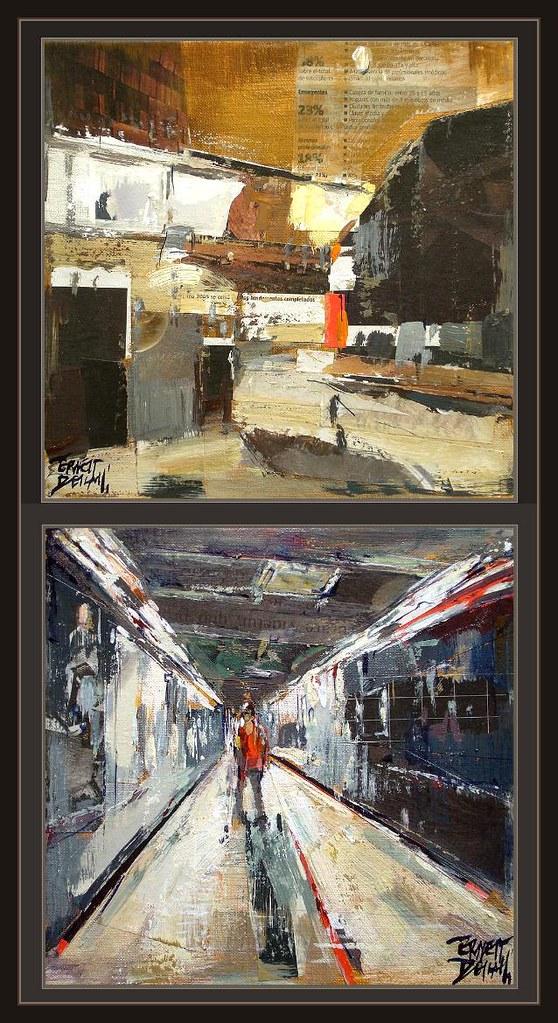 pintores modernos cuadros actuales arte pintor ernest desc