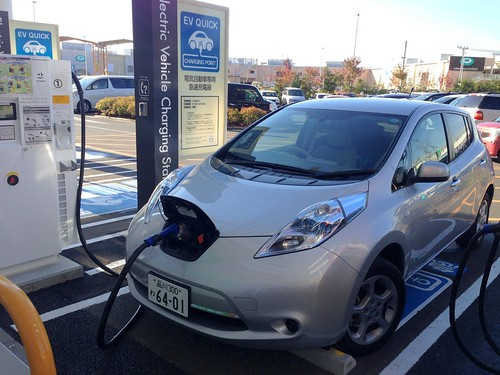 Nissan Leaf Electric Vehicle | by kawanet