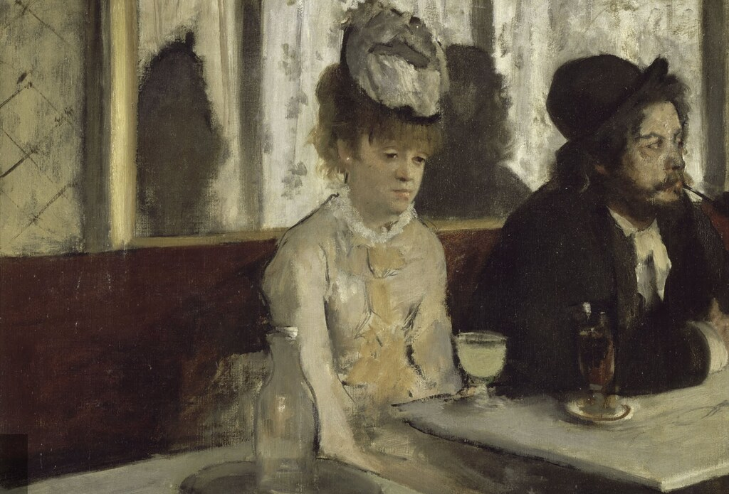 Image result for degas absinthe