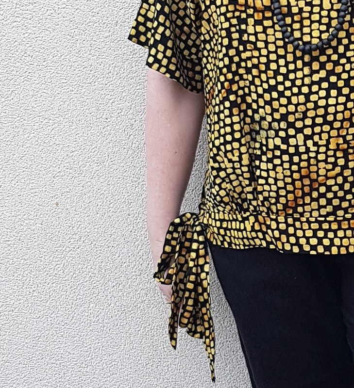 Hot Patterns Fast and Fabulous Kimono Blouson T in batik from Ubud
