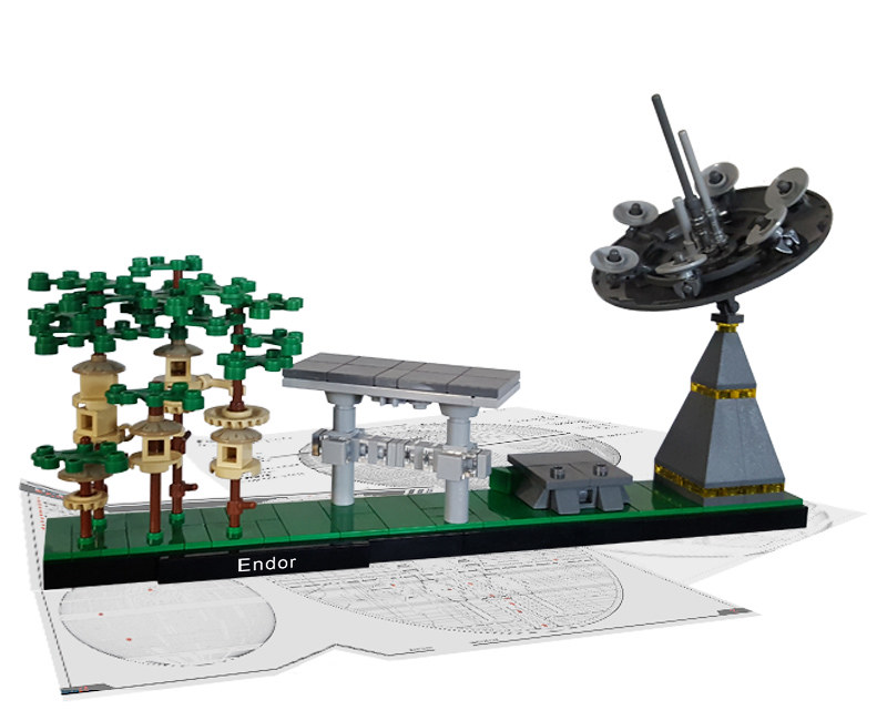 Endor (Architecture Skylines), by MstrOfPppts, on Eurobricks