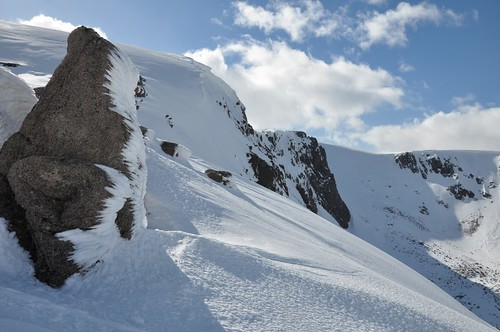 The headwall of Garbh Choire