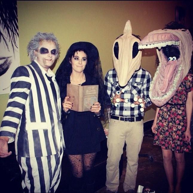 ... halosalonaugusta Maitlands costumes halo salon and spa beetlejuice DIY costume | by halosalonaugusta  sc 1 st  Flickr & Maitlands costumes halo salon and spa beetlejuice DIY cu2026 | Flickr
