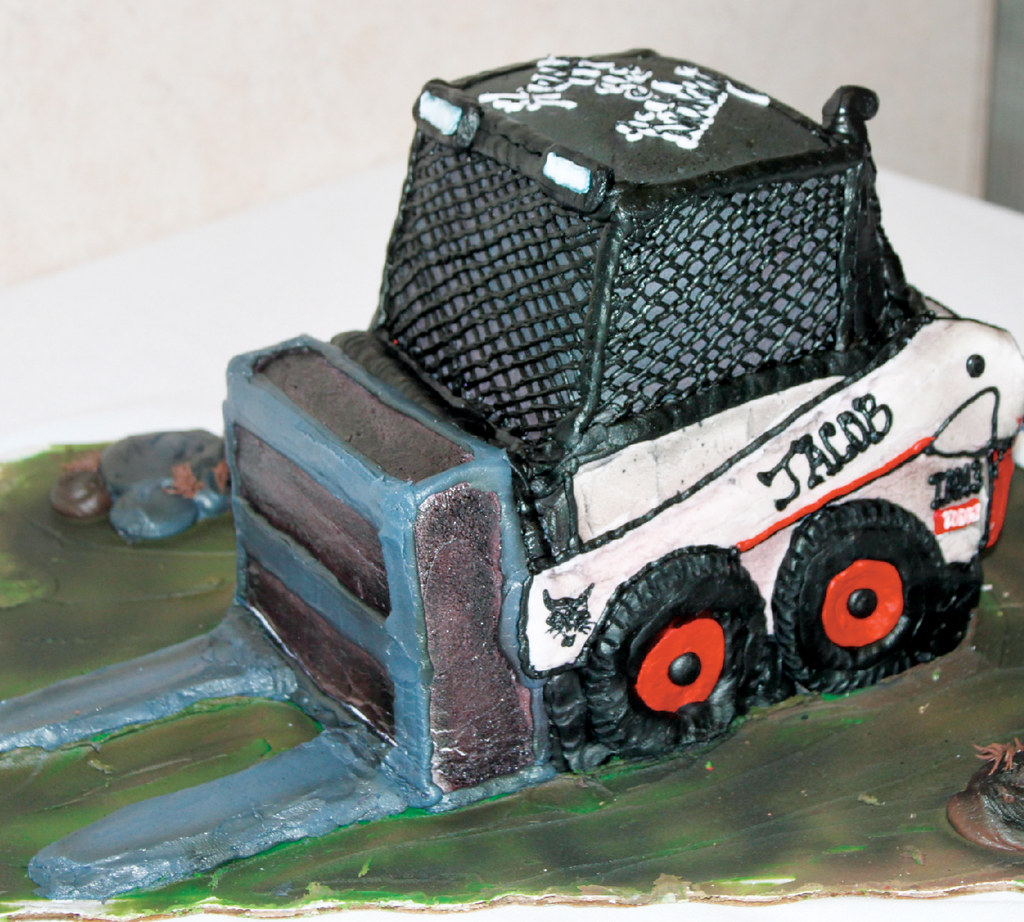Birthday Cake Jake is a true Bobcat SkidSteer Loader fan Flickr
