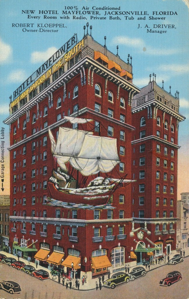 New Hotel Mayflower - Jacksonville, Florida