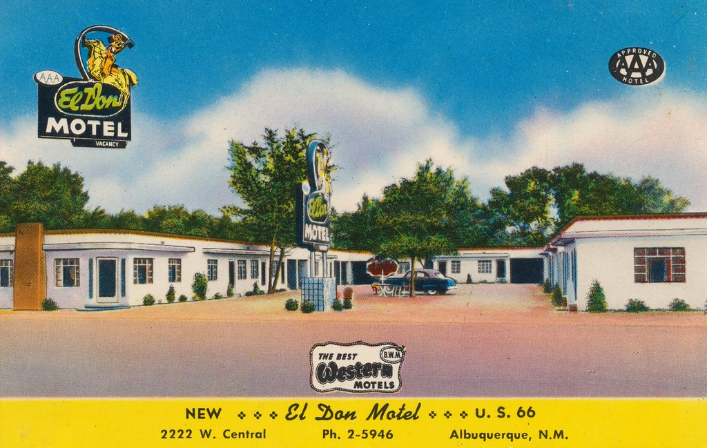 El Don Motel - Albuquerque, New Mexico
