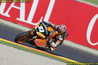Marc Marquez cornering Valencia Moto2 Qualifying 2012 | by stevie.english