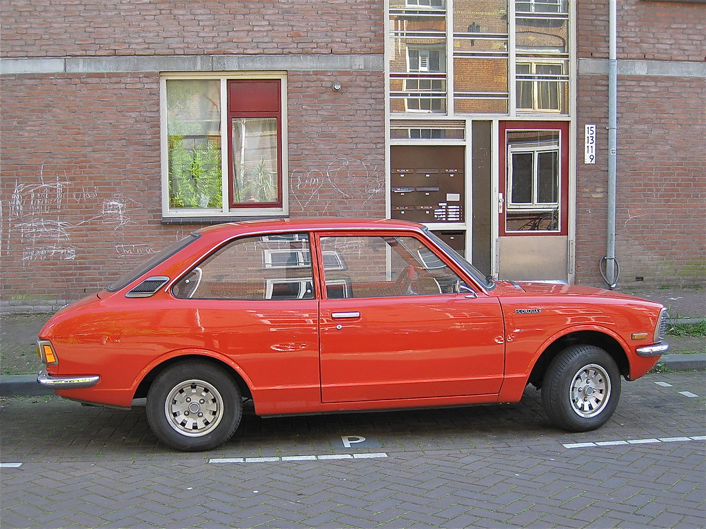 57-TK-76 TOYOTA Corolla 1200 Economic 1970-1974   The ...