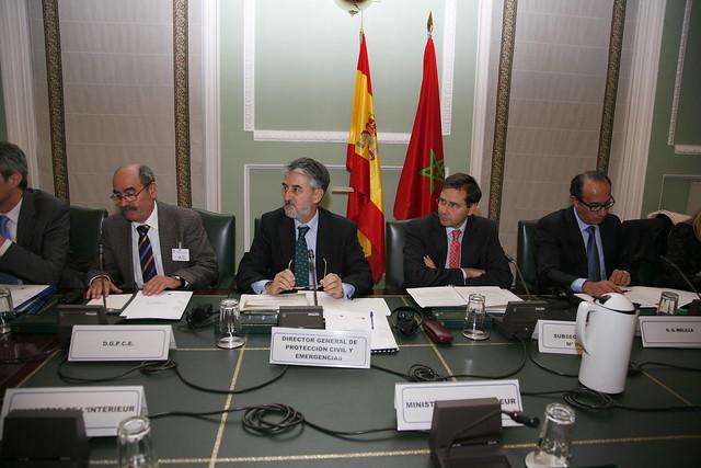El subsecretario del ministerio del interior luis aguiler for Ministerio de migracion