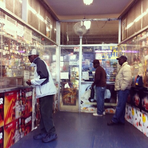 In America Liquor Stores Around Low Income Housing Projec