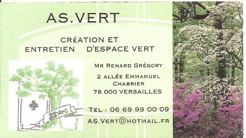 Carte de visite gregory renard jardinier paysagiste versai for Jardinier paysagiste versailles
