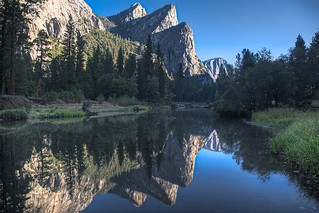 Three Brothers - Merced River - Yosemite - 2010 | by SJL