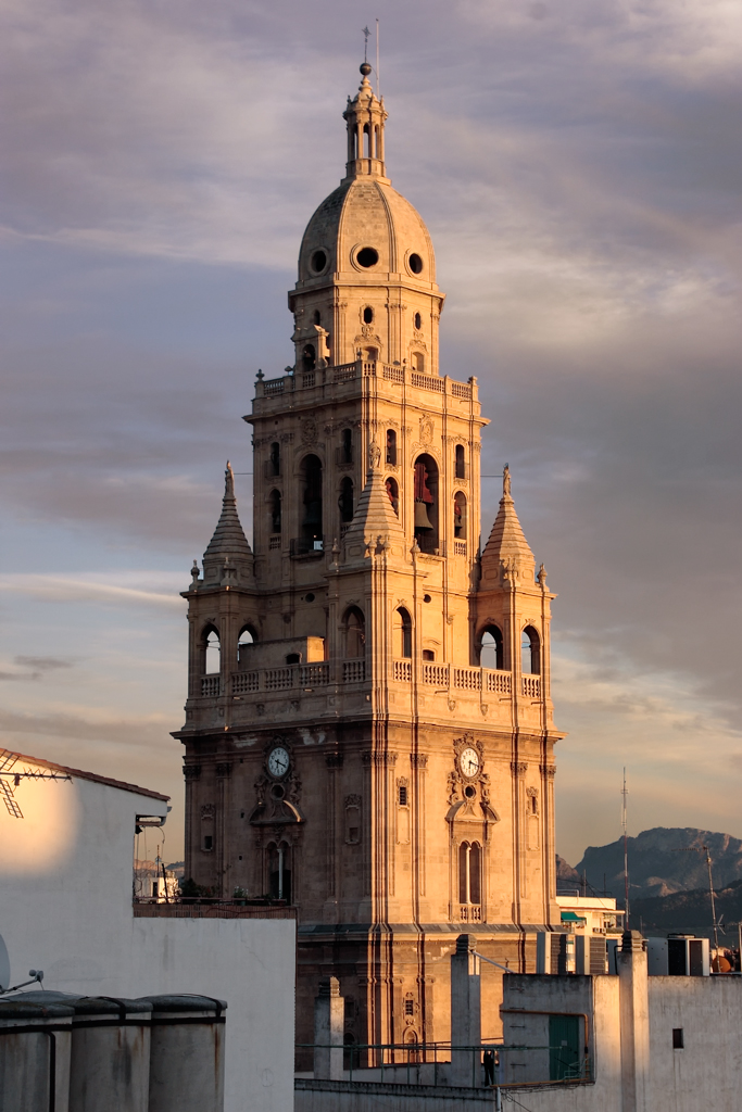 Torre catedral de murcia torre de catedral vista desde for Oficinas dela caixa en murcia