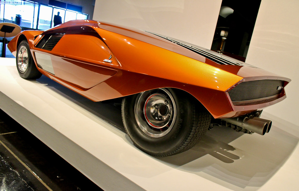 Lancia Stratos Hf Zero By Bertone This Car Is Absolutely
