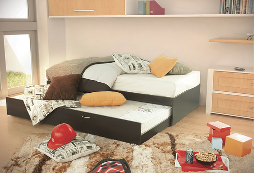 Cama Doble Ind Chocolate Placencia Muebles  Placencia Muebles