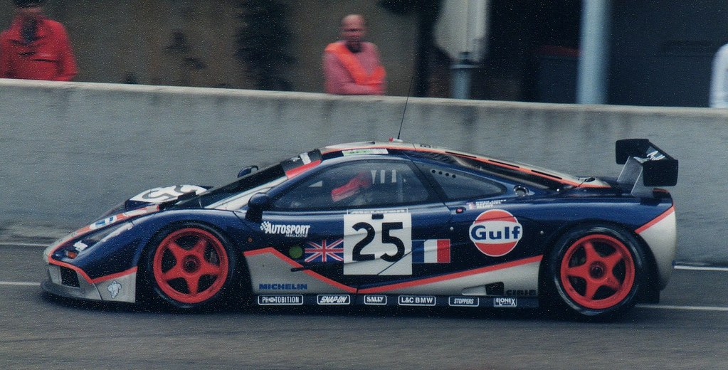 le mans 1995 gulf mclaren f1 gtr gtc gulf racing gb mcl flickr. Black Bedroom Furniture Sets. Home Design Ideas