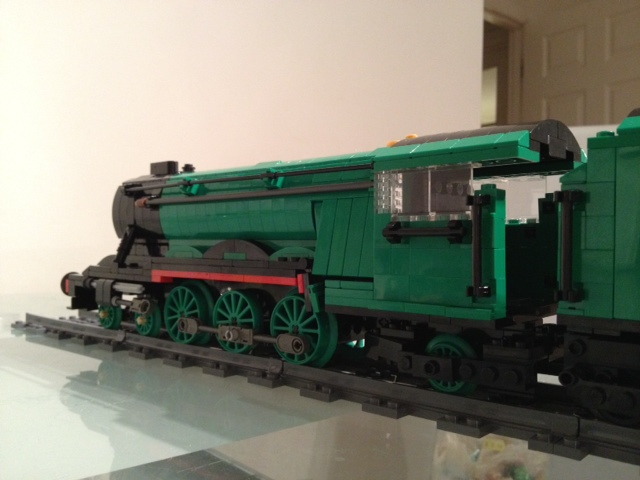 Lego Flying Scotsman work in progress | Need to finish off c… | Flickr