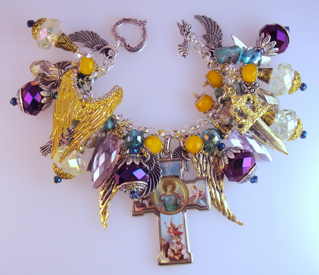 St Michael And Archangels Charm Bracelet Inspirational Flickr