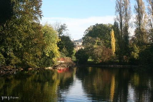 Parc edmond de rothschild ch teau en ruine tang jar flickr - Jardin d eveil boulogne billancourt ...