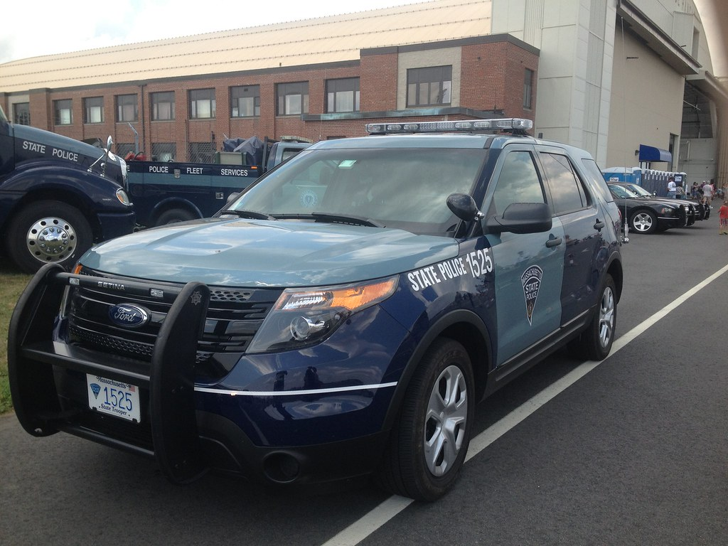 Massachusetts State Police 2011 Ford Explorer Taken At