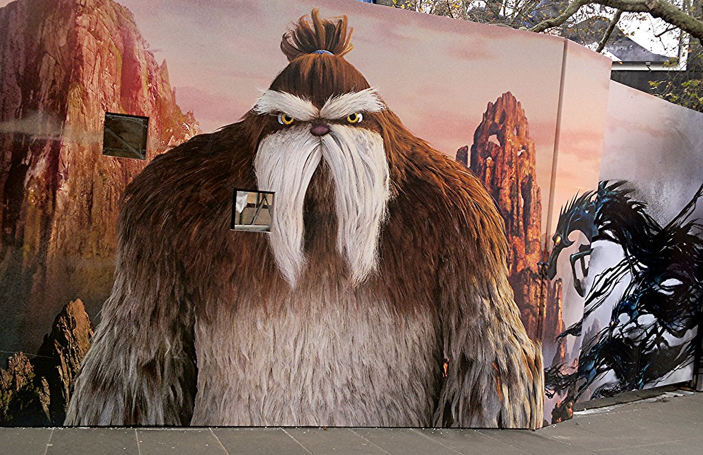 one of santas badass yeti helpers rise of the guardians