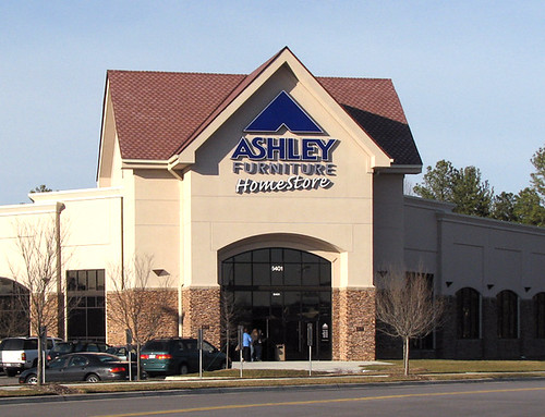"Ashley Furniture • Raleigh NC 16 8"" x 17 10"" overall si"