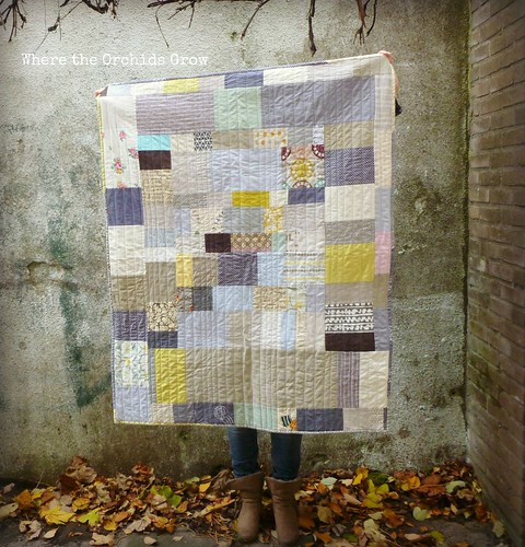 improv quilt | by {Leila} Where Orchids Grow