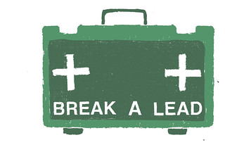 break a lead logo | by Jodie McNeil
