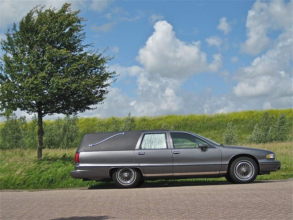 Chevrolet Caprice Hearse 1992 Although 20 Years Old Still Flickr
