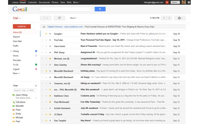 how to delete my inbox in gmail