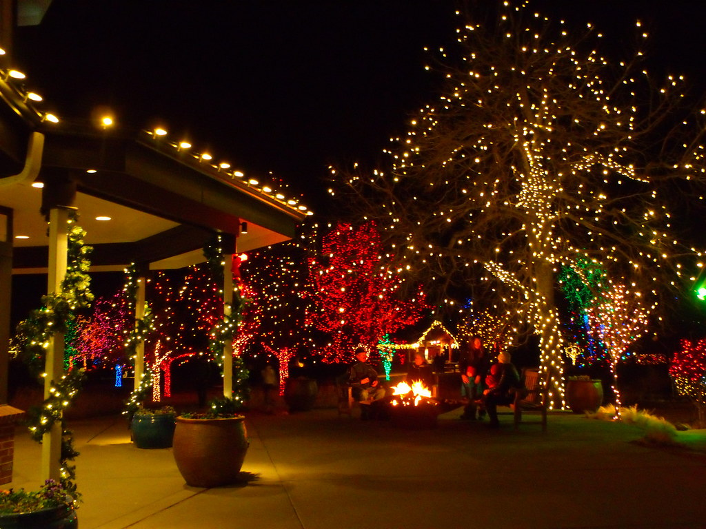 Trail | Trail Of Lights, Denver Botanic Gardens, December 20… | Flickr