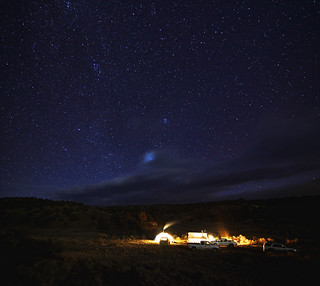 Hunt Camp Under the Stars | by Zach Dischner