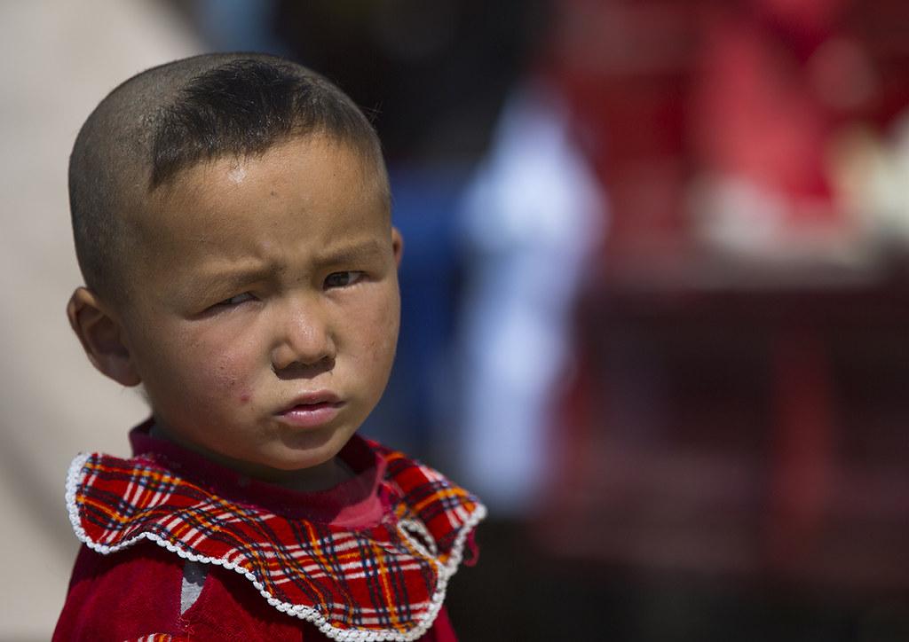 Uyghur Boy With New Haircut Serik Buya Market Yarkand X Flickr