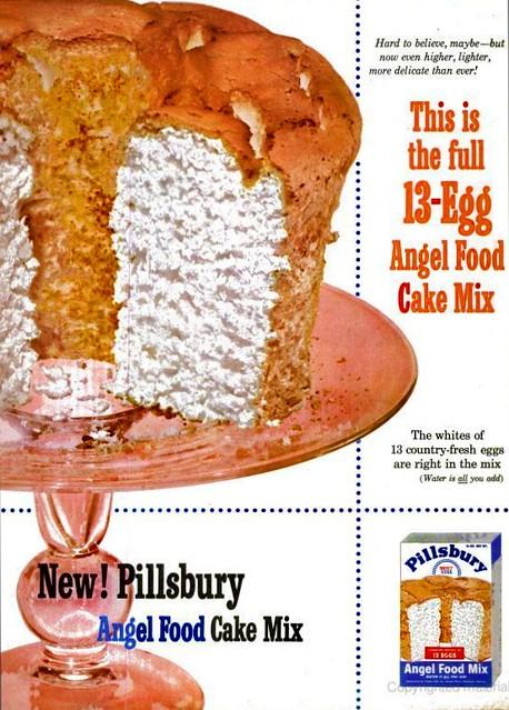 Pillsbury Cake Mix Allergy Information