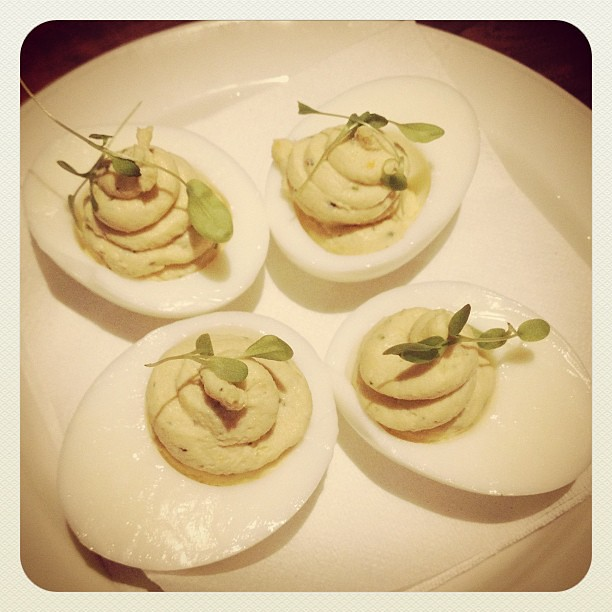 Smoked Trout Deviled Eggs | MookieLuv | Flickr