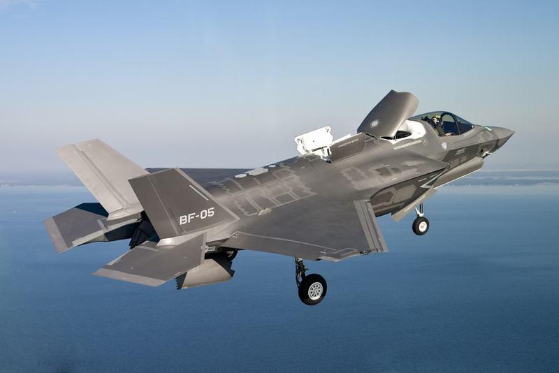 美軍將在日本岩國基地部署F-35B型戰機。(圖片取自日本新聞網)