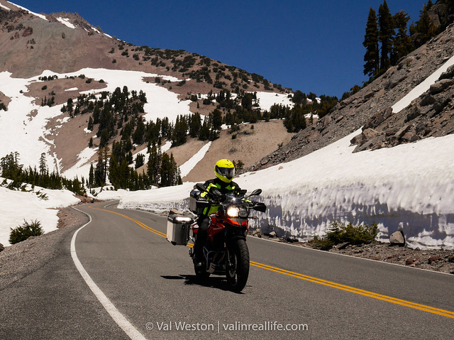 lassen volcanic national park - val in real life